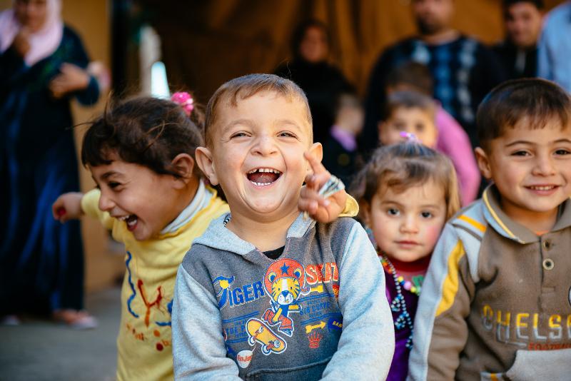 Refugee children in Iraq