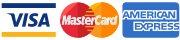 Donate by Visa, Mastercard, Amex